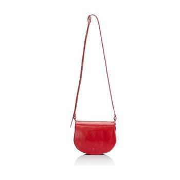 Geantă din piele Giulia Massari Gitte, roșu de la Giulia Massari