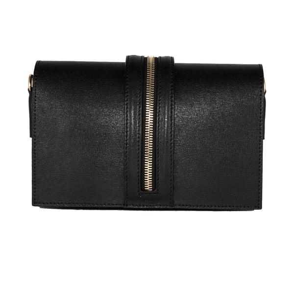 Kožená kabelka Andrea Cardone 2019 Black