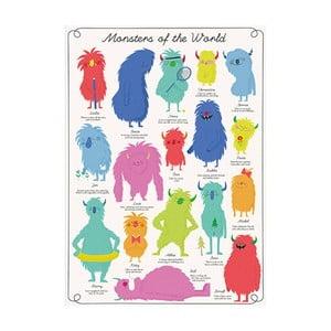 Balící papír Rex London Monsters Of The World
