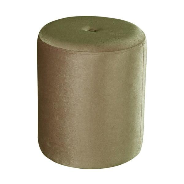 Světle zelený puf JohnsonStyle Ellen Magic Velvet, ⌀ 40 cm