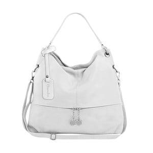 Bílá kožená kabelka Maison Bag Evelyne