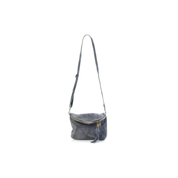 Kožená kabelka Julie, šedá
