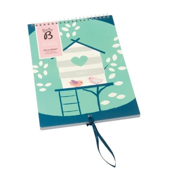 Nástěnný kalendář Busy B Couples 2017