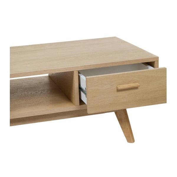 Stolek z dubového dřeva se šuplíky Santiago Pons Carmit