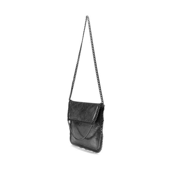 Kožená kabelka Lisa Minardi 109 Black