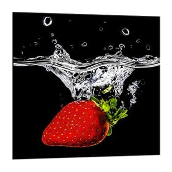 Tablou Styler Glasspik Red Fruits, 20 x 20 cm