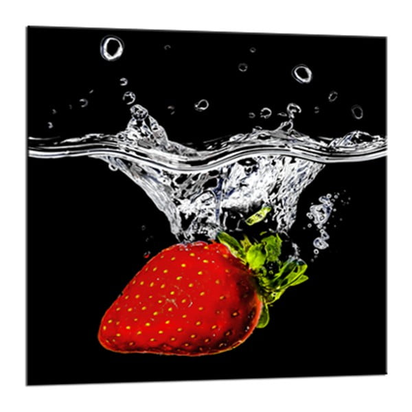 Obraz Styler Glasspik Red Fruits, 20 x 20 cm