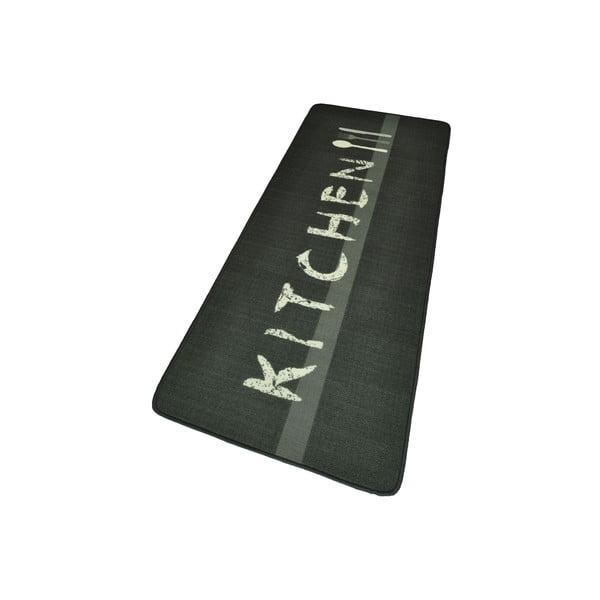 ŠedýHnědý kuchyňský koberec HanseHomeKitchen, 67x180cm