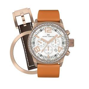 Dámské hodinky Marc Coblen s páskem a kroužkem navíc P24