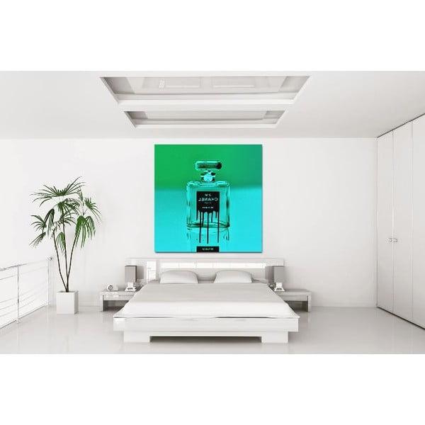 Obraz Icon in a Bottle Green, 91x91 cm