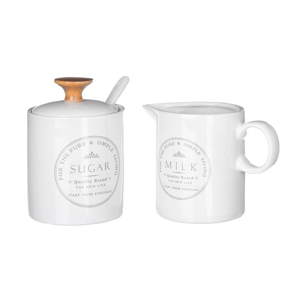Set cukorničky a nádoby na mlieko Unimasa Pure Living
