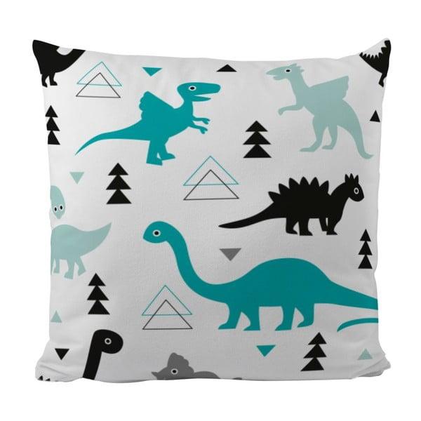 Polštář Cute Dinosaurus, 50x50 cm