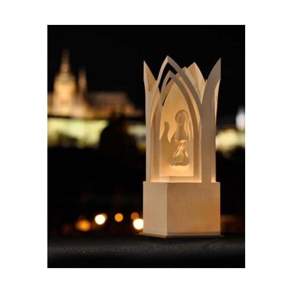 Svícen Betlém Praha, 31 cm