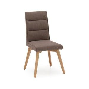 Sada 2 šedých jídelních židlí VIDA Living Jenoah