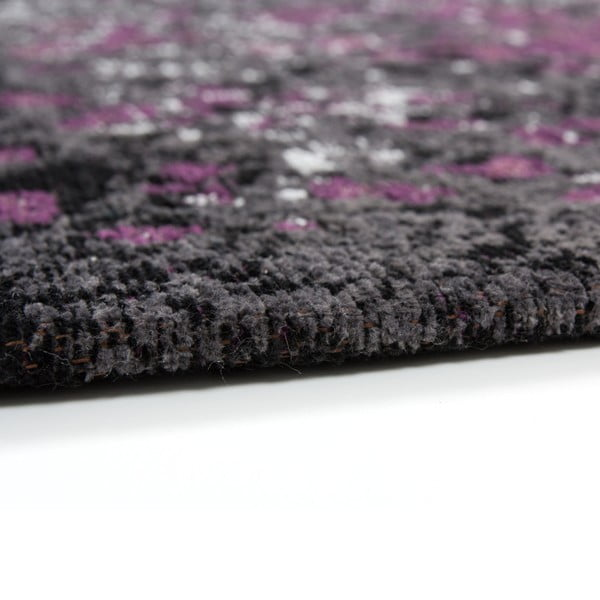 Šedo-fialový koberec Kayoom Violet Autumn, 120x170cm