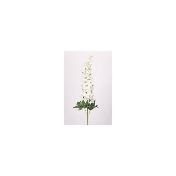 Umělá květina Ostrožka, krémová