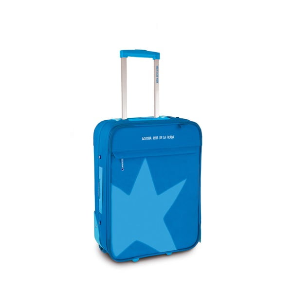 Kufr Agatha 36x50x20 cm, modrý