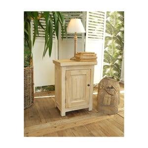 Dřevěný noční stolek Orchidea Milano, výška55cm