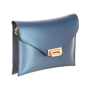 Modrá kabelka z pravé kůže Andrea Cardone Shine