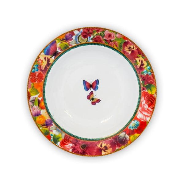 Porcelánový hluboký talíř Melli Mello Eliza, 21.5 cm