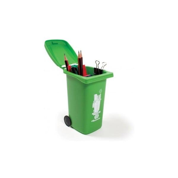 Popelnice na tužky Green