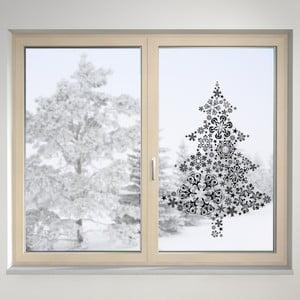Elektrostatická samolepka Vánoční stromeček