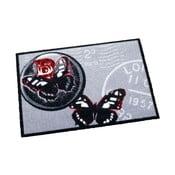 Šedý koberec Zala Living Butterflies, 50x70cm