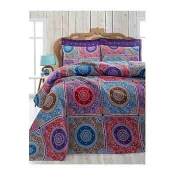 Cuvertură ușoară din bumbac pentru pat de o persoană Mala, 160 x 230 cm