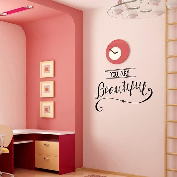 Samolepka You Are Beautiful, 41x57 cm