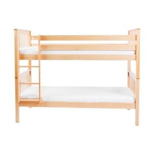Dětská palanda z masivního bukového dřeva Mobi furniture David, 200x90cm