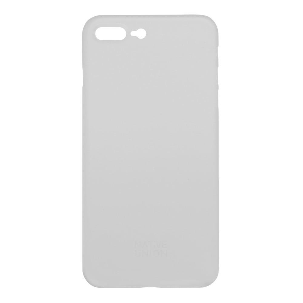 Průhledný obal na mobilní telefon pro iPhone 7 a 8 Plus Native Union New Clic Case Clear