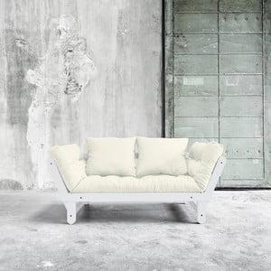 Canapea extensibilă Karup Beat White/Natural