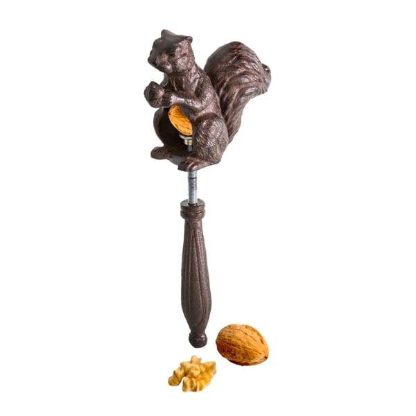 Hnedý liatinový luskáčik na orechy Antic Line