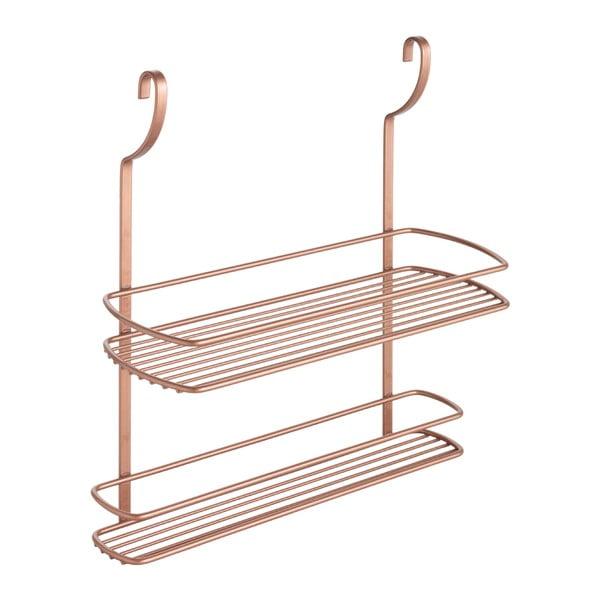 Etajeră de perete cu 2 rafturi Metaltex Copper