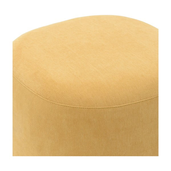 Žlutá stolička InArt Metallic,⌀42cm