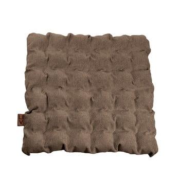 Pernă pentru șezut cu bile pentru masaj Linda Vrňáková Bubbles, 55x55cm, maro imagine