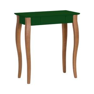 Tmavě zelený psací stůl Ragaba Lillo, šířka65cm