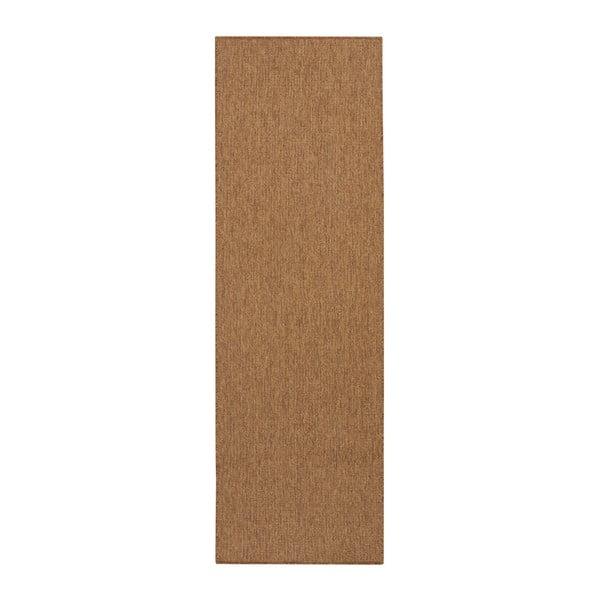 Brązowy chodnik BT Carpet Nature, 80x150 cm