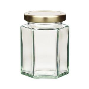 Zavařovací sklenice KitchenCraft Hexagonal, 227ml