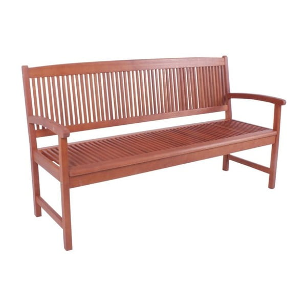 Ogrodowa ławka 3-osobowa z drewna eukaliptusowego ADDU Stockholm