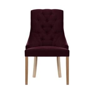Tmavě červená židle Jalouse Maison Chiara