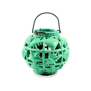 Felinar ceramică Villa d'Este Tonda, verde