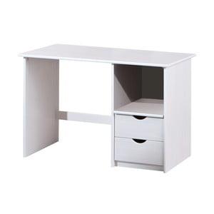 Bílý dřevěný psací stůl 13Casa Work