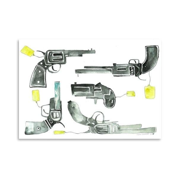 Plakát Pistols, 30x42 cm