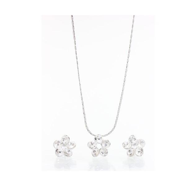 Set náhrdelníku a náušnic s krystaly Swarovski Elements Laura Bruni Tokke