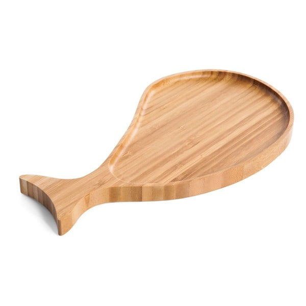 Servírovací podnos z bambusového dřeva Bambum Dorel
