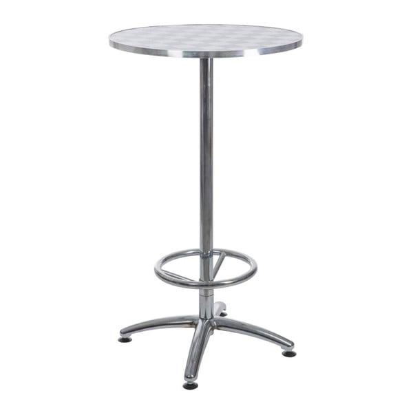 Stůl Coctail White, 55x55x104 cm