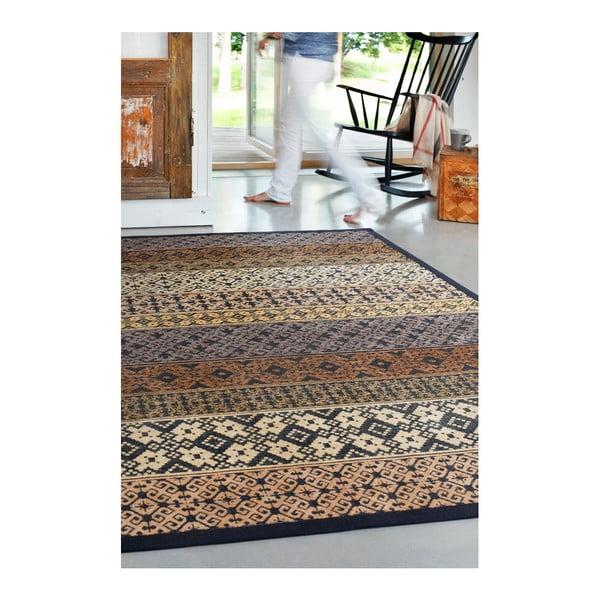 Béžový vzorovaný oboustranný koberec Narma Tidriku, 140x200cm