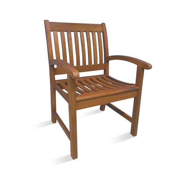Jídelní židle z eukalyptového dřeva Evergreen House Faux
