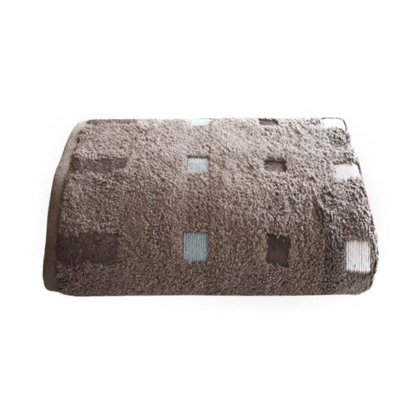 Ručník Quatro Taupe, 80x160 cm